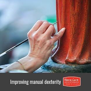 Helping Seniors Improve Manual Dexterity in Dayton, OH