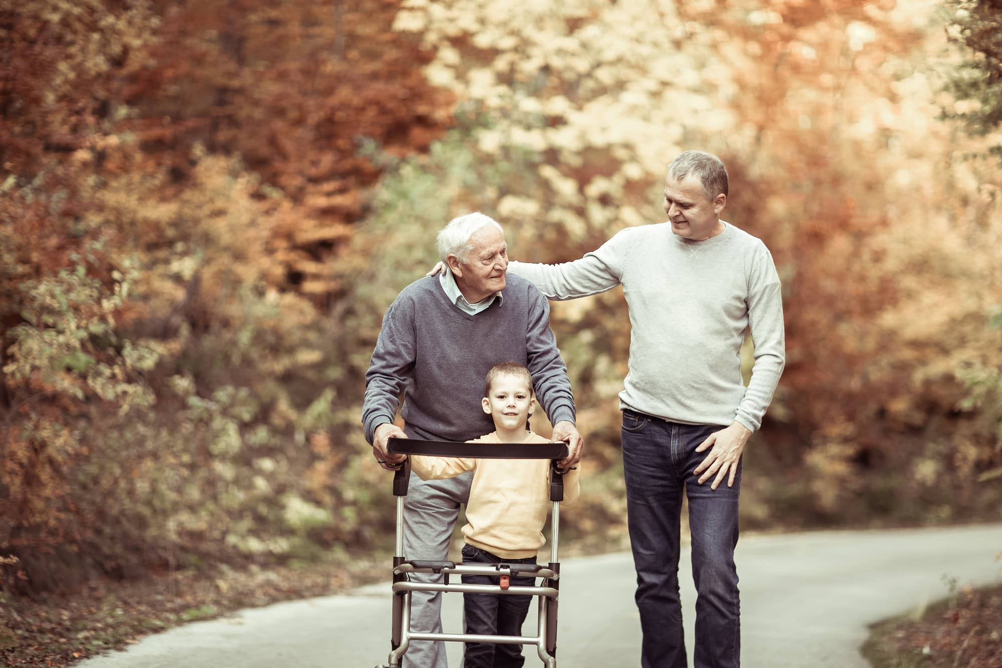 Senior care legal documents
