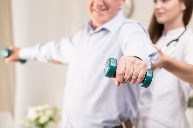 Senior Care Exercises At Home