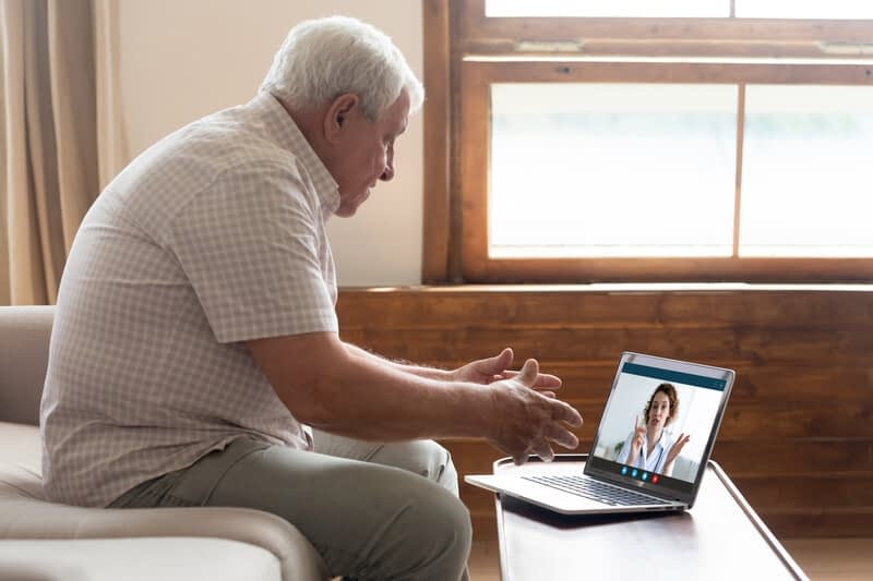 Social Distancing for Seniors-Teaching Your Loved One to Use Skype