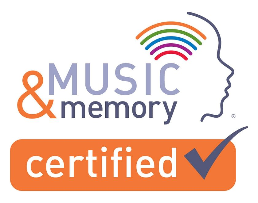 Music & Memory Certification Seal
