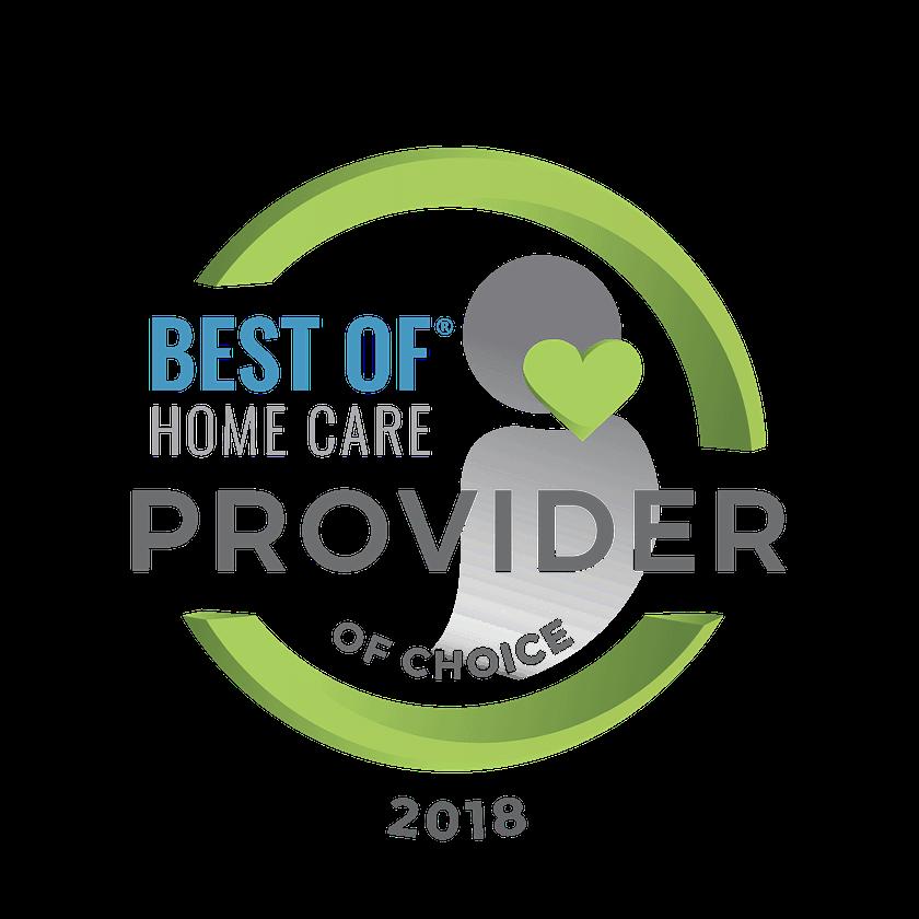 Best Home Care Provider 2018 Digital Seal