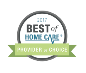 Best of home care provider of choice 2017 digital seal