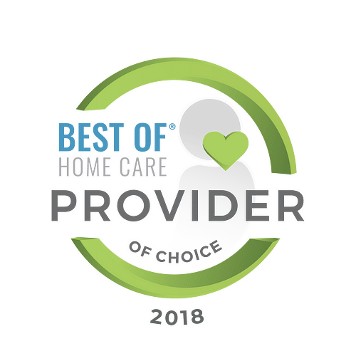 Best Home Care Provider 2018 Digital Seal
