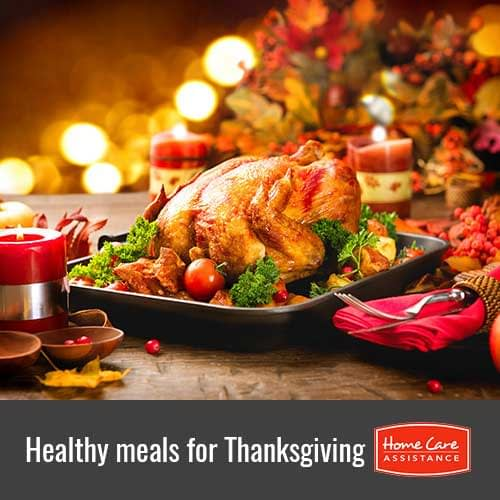 Healthy Meals That Seniors Who Are Recovering from a Stroke or Heart Attack Can Eat on Thanksgiving in Burlington, VT