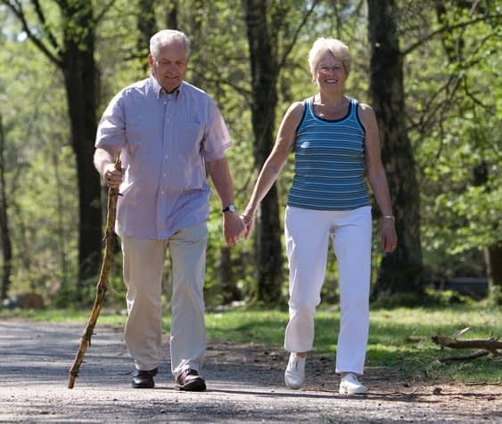 Older Couple in Burlington, VT
